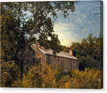 The Stone Mill Canvas Print by Jessica Jenney