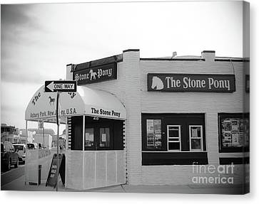 The Stone Pony - One Way Canvas Print by Colleen Kammerer