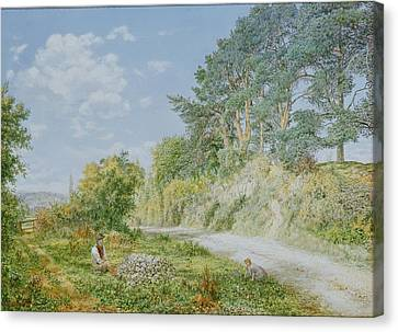 The Stonebreaker Canvas Print by George William Mote