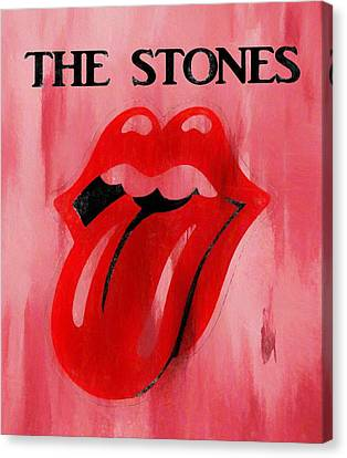 The Stones Poster Canvas Print by Dan Sproul