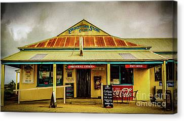 Canvas Print featuring the photograph The Store by Perry Webster