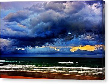 The Storm Roles In Canvas Print