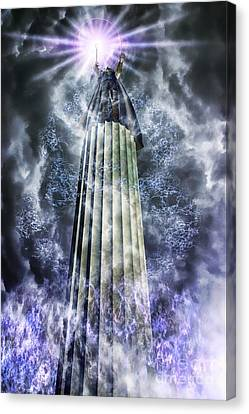 The Stormbringer Canvas Print by John Edwards