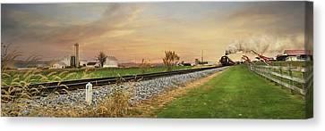 The Strasburg Rail Road Canvas Print