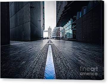 The Stream Of Time Canvas Print by Giuseppe Torre