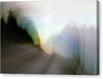 The Street Of Fantasy Canvas Print by Heiko Koehrer-Wagner