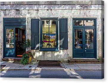 The Streets Of Charleston Canvas Print