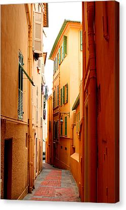 The Streets Of Venice Canvas Print