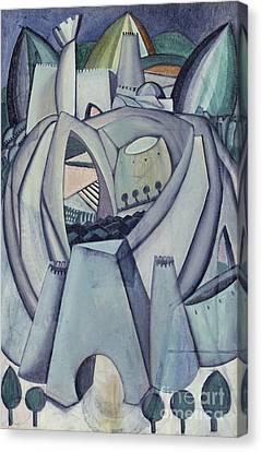 The Stronghold Canvas Print by Amadeu de Souza-Cardoso