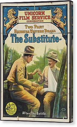 The Substitute 1916 Canvas Print by Mountain Dreams