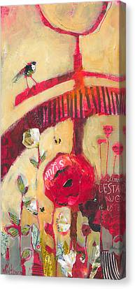 The Suitor Canvas Print by Shelli Walters