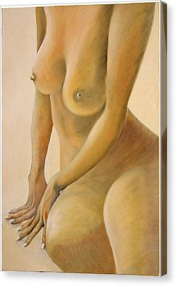 The Sun Bather Canvas Print by Monty Perales