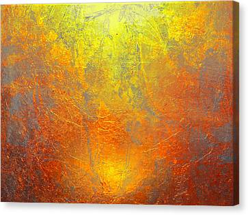 The Sun Canvas Print by Contemporary Art