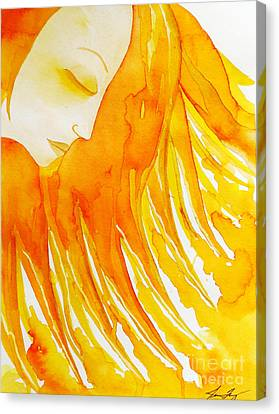 The Sun Goddess Canvas Print by Jean Fry