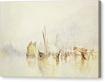 Italian Landscape Canvas Print - The Sun Of Venice by Joseph Mallord William Turner