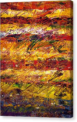 The Sun Rose One Step At A Time Canvas Print by Wayne Potrafka