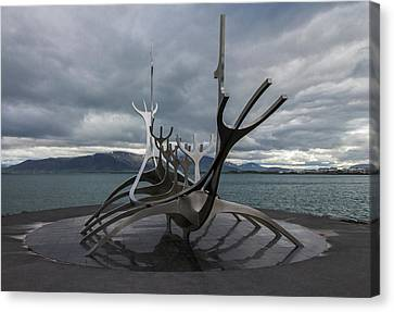 The Sun Voyager, Reykjavik, Iceland Canvas Print