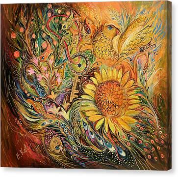 The Sunflower Canvas Print by Elena Kotliarker