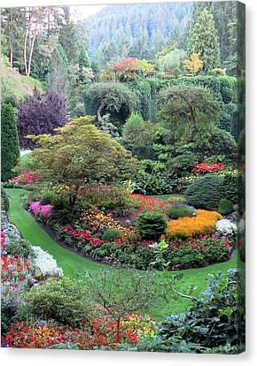 The Sunken Garden Canvas Print