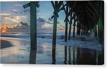 The Sunrise Topsail Island Canvas Print