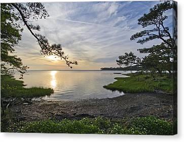 Chincoteague Canvas Print - The Suns Retreat - Assateague Island - Maryland by Brendan Reals