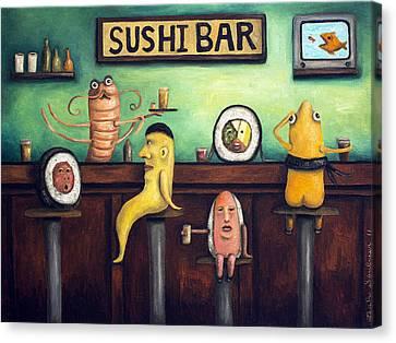The Sushi Bar Canvas Print