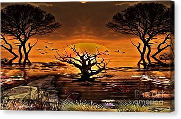 The Swamp Canvas Print