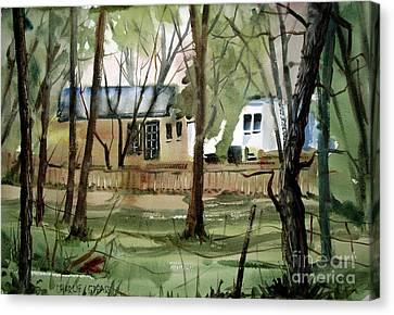 The Sweep Matted Glassed Framed Canvas Print by Charlie Spear