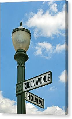 The Sweetest Street Corner In The World Canvas Print