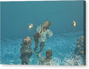 The Swimming Pool Canvas Print