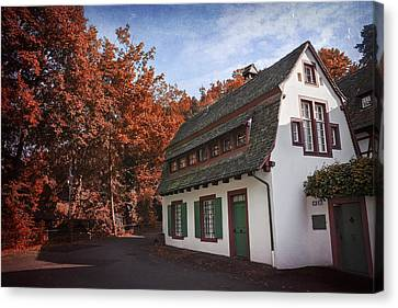 The Swiss House Canvas Print by Carol Japp