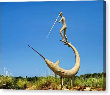 The Swordfish Harpooner Canvas Print by Mark Miller