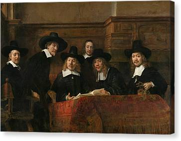 The Syndics Of The Amsterdam Drapers' Guild Canvas Print