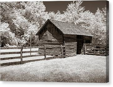 Canvas Print - The Tack Shed by James Barber