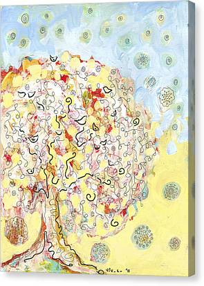 The Talking Tree Canvas Print by Jennifer Lommers