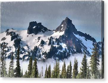 The Tatoosh, Washington, Usa Canvas Print