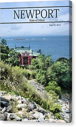 Cliff Lee Canvas Print - The Tea House by Robin-Lee Vieira