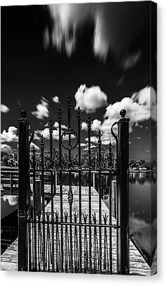 Blacksmith Canvas Print - The Tee Gate  by Marvin Spates