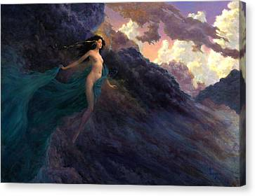 The Tempest Canvas Print by Richard Hescox