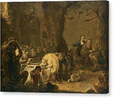 The Temptation Of Saint Anthony Canvas Print