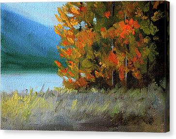 Canvas Print featuring the painting The Tenth Month by Nancy Merkle