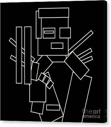 The Terminator Canvas Print by Igor Kislev