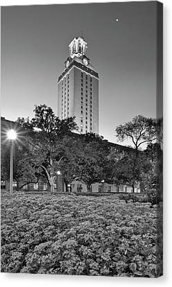 The Texas Tower By Moonlight Canvas Print