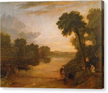 The Thames Near Windsor Canvas Print by Joseph Mallord William Turner