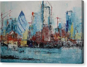 The Thames View Canvas Print by Irina Rumyantseva