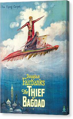Horror Fantasy Movies Canvas Print - The Thief Of Bagdad,  Douglas by Everett