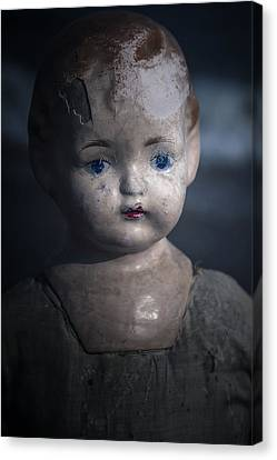 Old Blue Eyes Canvas Print - the things I've seen by Joana Kruse