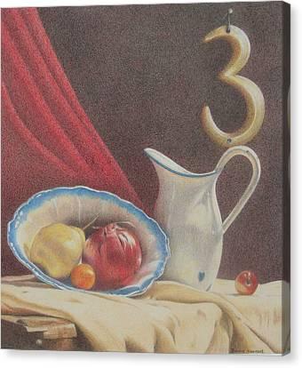 The Third Element Canvas Print by Bonnie Haversat