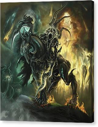 The Third Horseman Canvas Print by Iosif Ioan Chezan