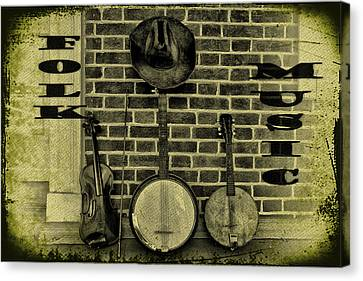 The Three Amigos - Folk Music Canvas Print by Bill Cannon